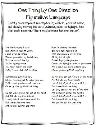 English worksheets: Smile - Understanding Figurative Language ...