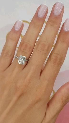Radiant Cut Beauty in a Perfect Setting!💍