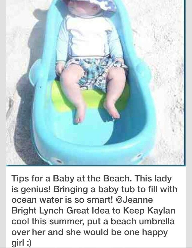 Baby at the Beach | Summer Baby | Pinterest | Beach, Babies and Baby ...