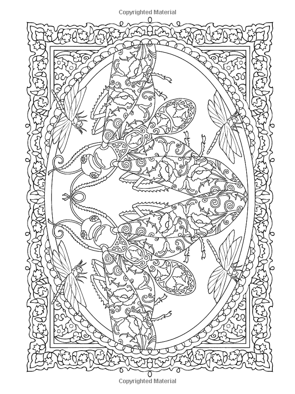 Creative Haven Incredible Insect Designs Coloring Book Creative Haven Coloring Books Mar Designs Coloring Books Creative Haven Coloring Books Coloring Books