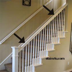 Best Banister Stairway Handrail Parts Wood Handrail Stair 400 x 300