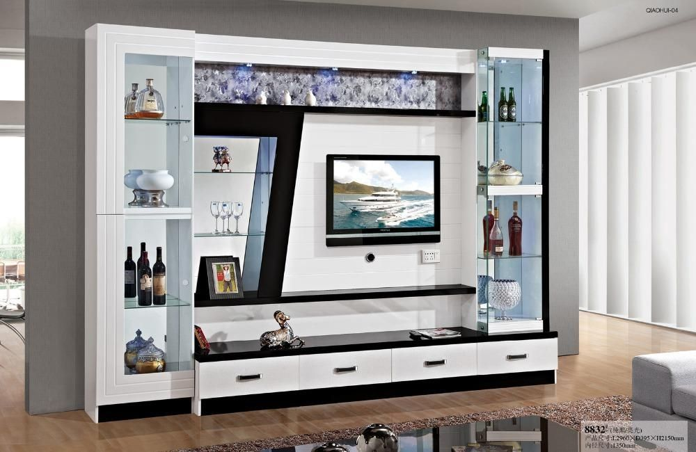 Wall Display Units and Tv Cabinets in 2020 | Tv unit decor ...