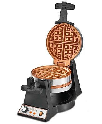 Crux Double Rotating Waffle Maker 14614 Created For Macy S Reviews Small Appliances Kitchen Macy S Waffles Maker Belgian Waffle Maker Best Waffle Maker