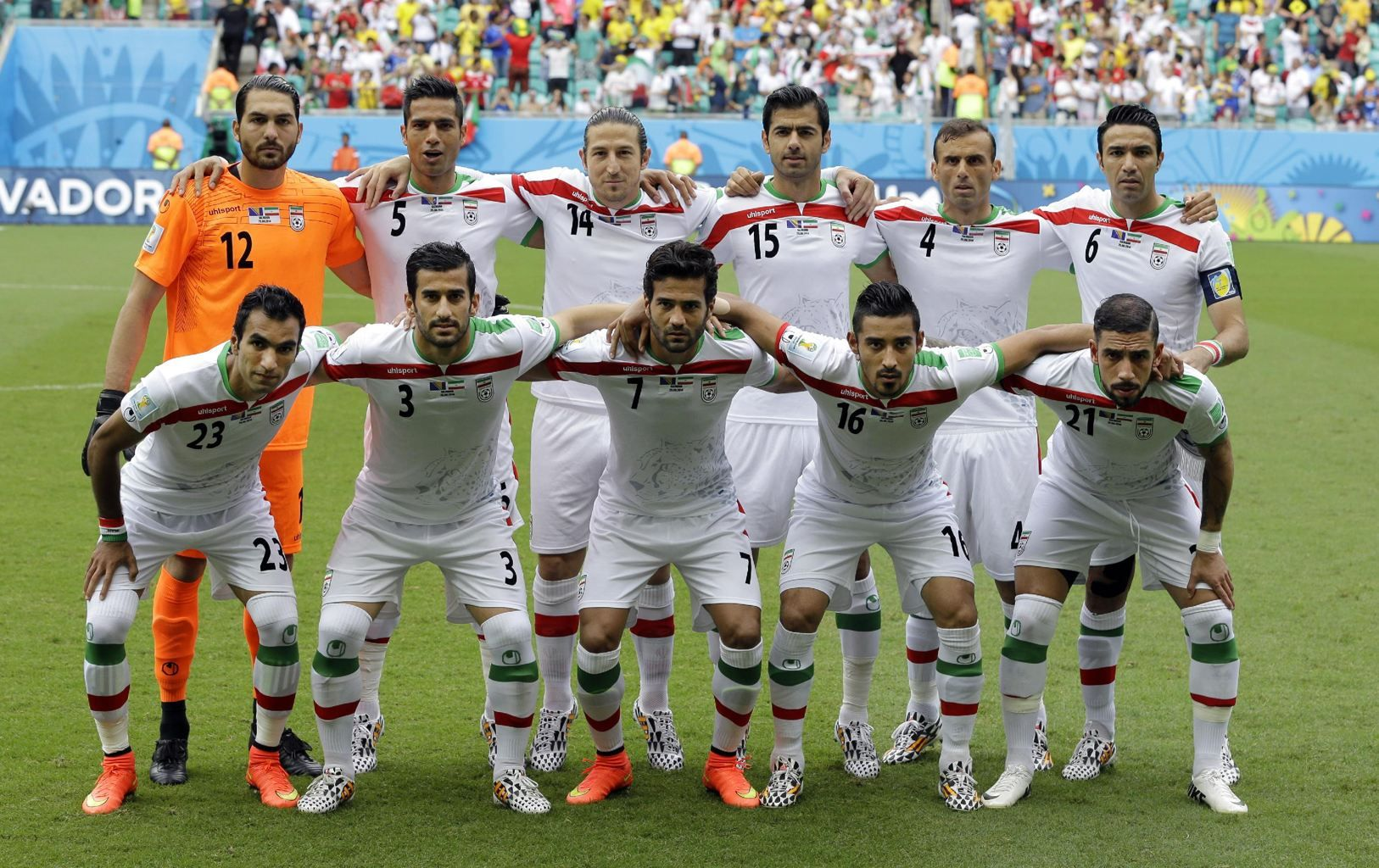 Iranian National Team In 2014 World Cup Iran National Football Team World Cup World Cup Groups