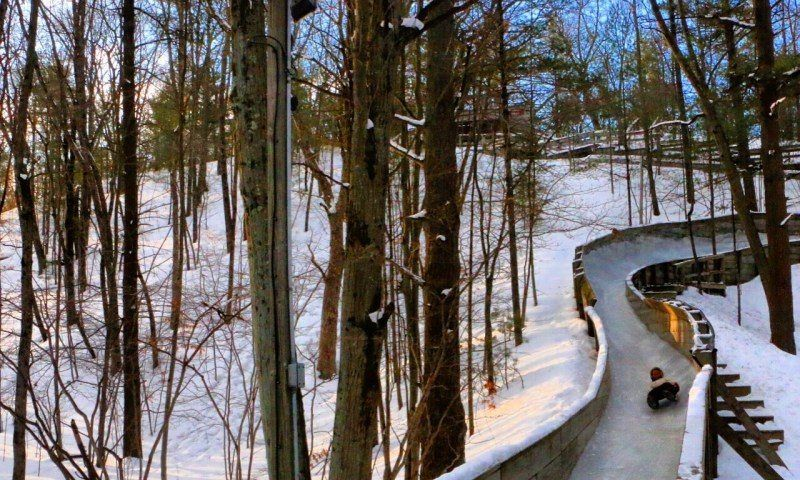 Muskegon Winter Luge Track The Luge