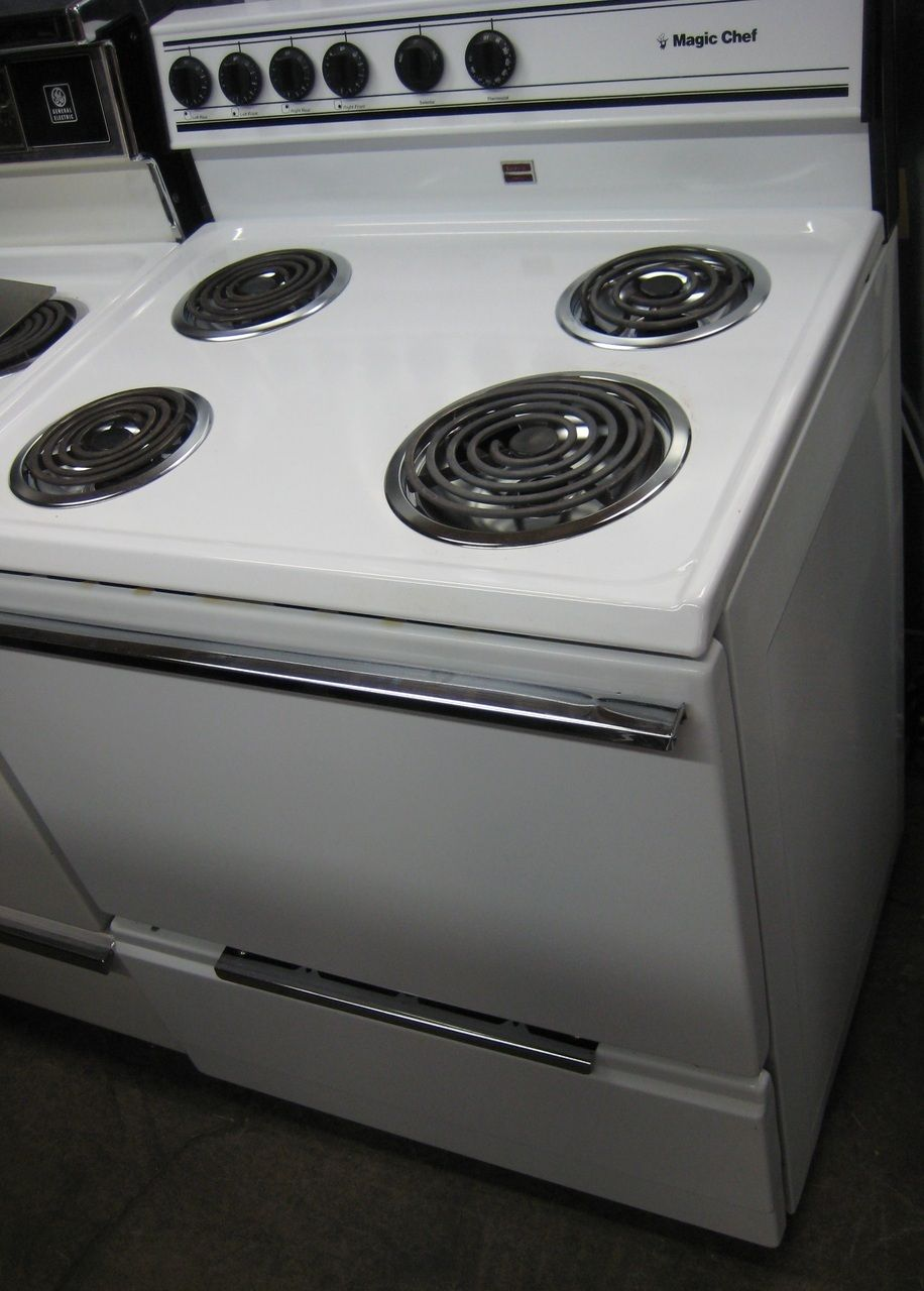 Appliance City - MAGIC CHEF 30 INCH ELECTRIC RANGE FREE STANDING ...