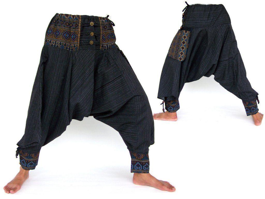 Samurai pants, Hippie pants | Indische, Stoffe und Kleidung