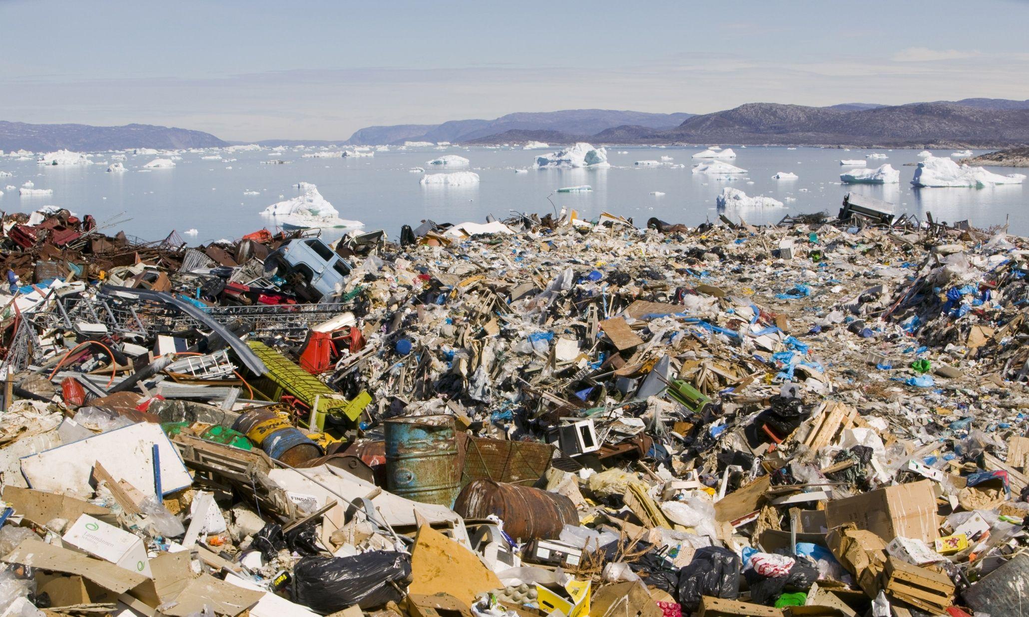 Картинка загрязнение земли