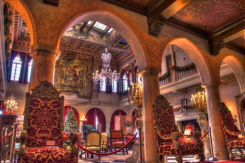 Ca D Zan Mansion Interior Ringling Museum Hdr Mansion