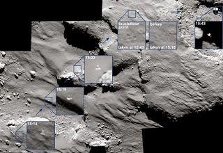 G.A.B.I.E.: La sonda Rosetta capta la deriva de Philae por el ...