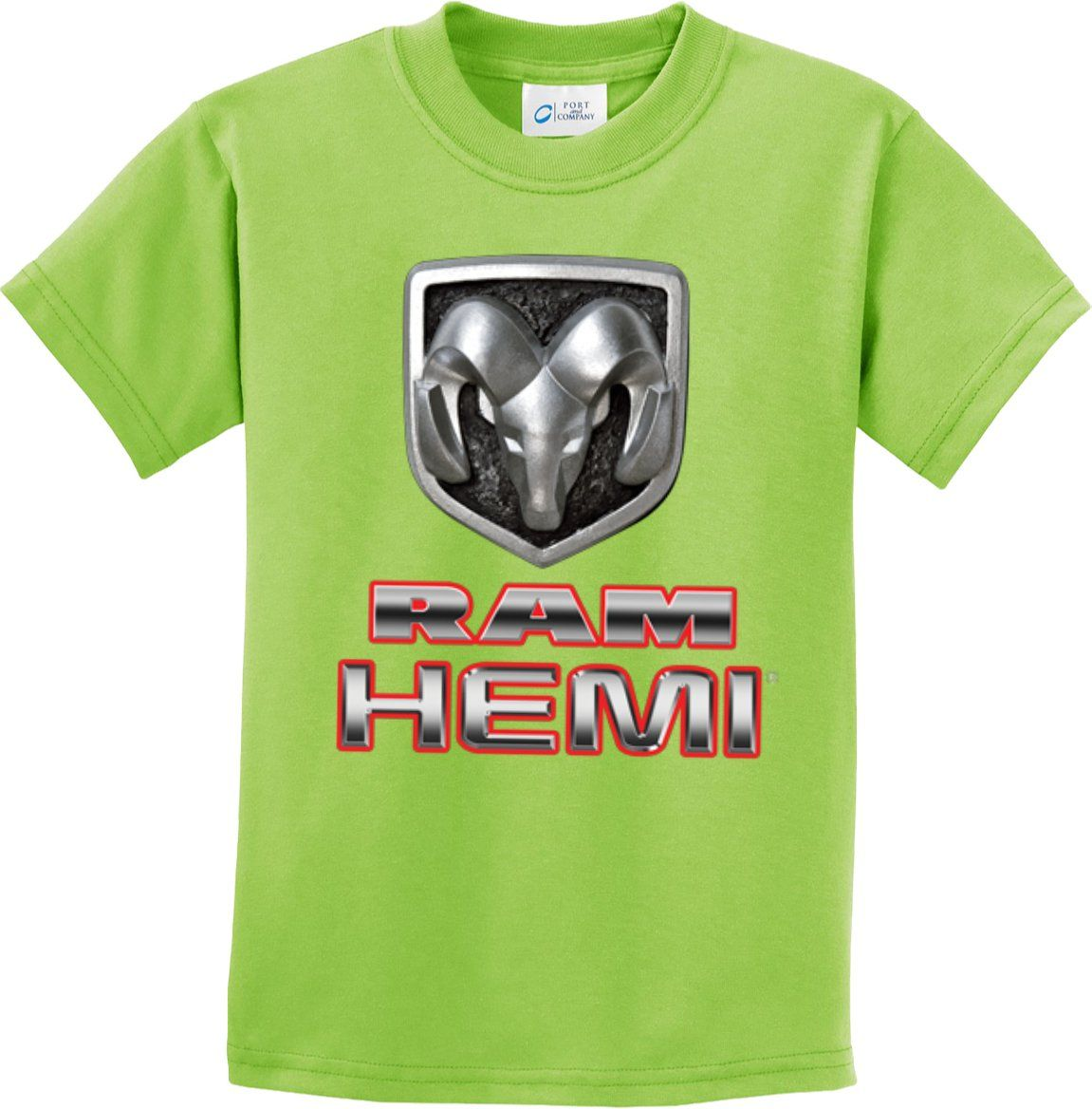 Kids Dodge Ram Hemi Logo T-Shirt