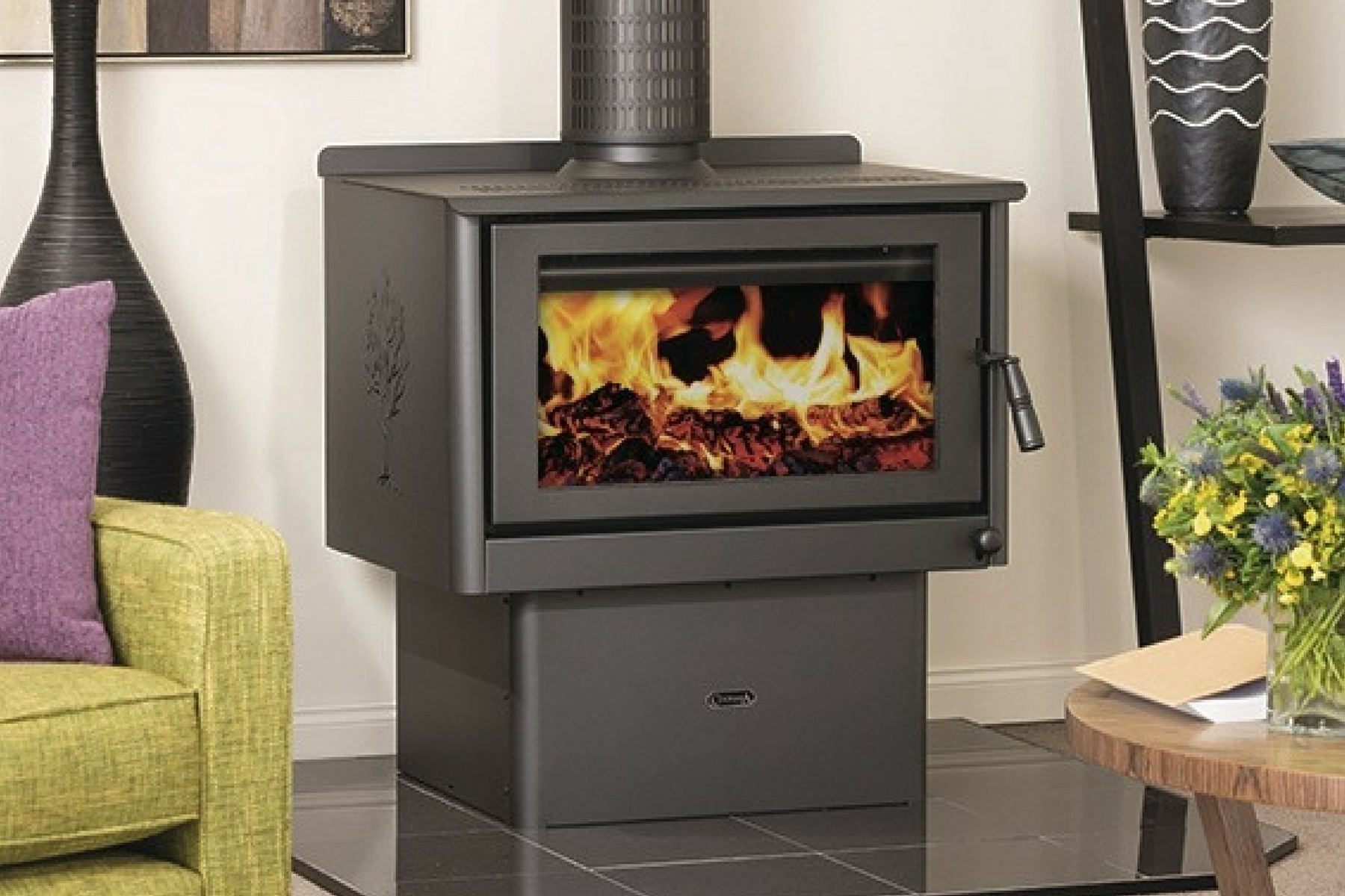 Wood Burning Fireplace Accessories Parts Collection