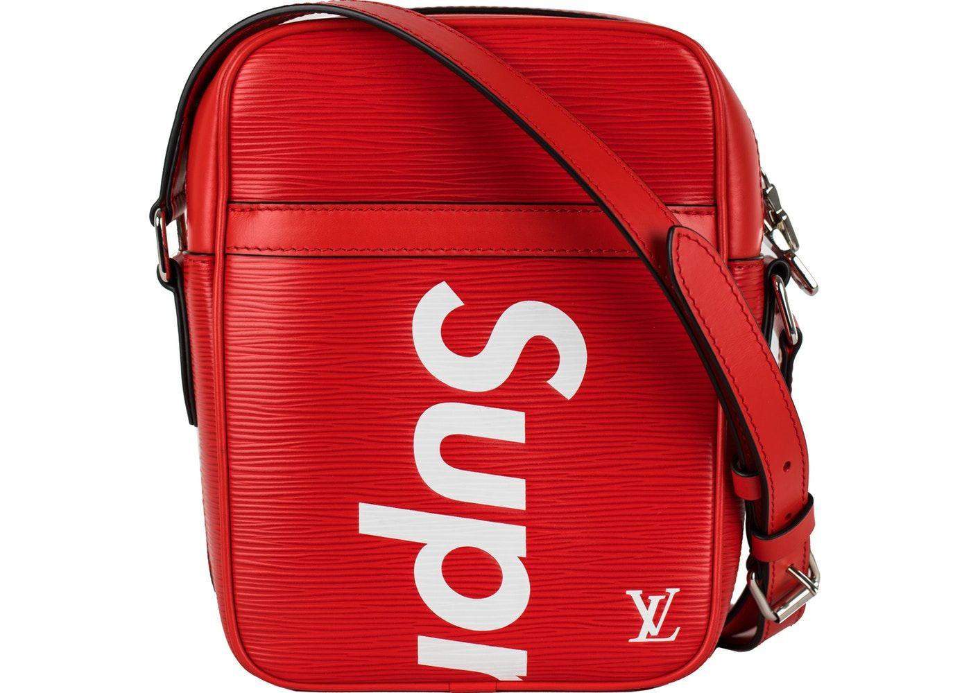 e3af8692160 Louis Vuitton x Supreme Danube Epi PM Red | Red / White / Black ...