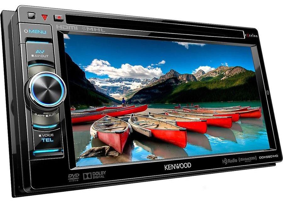 Top 10 Touch Screen Car Stereos With Images Kenwood Car Stereo Hd Radio