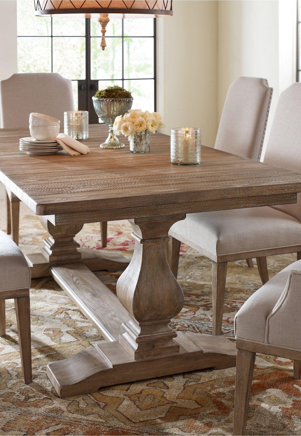 37 Fascinating Farmhouse Dining Table Design Ideas