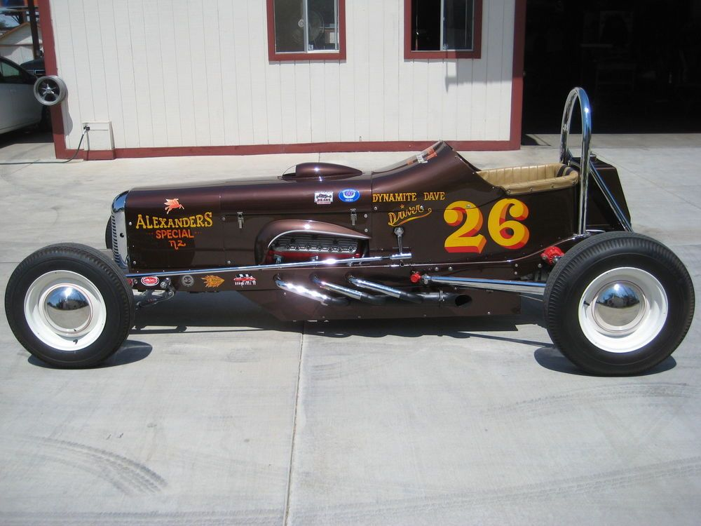 FORD FLATHEAD POWERED RACE CAR/ART CHRISMAN TRIBUTE. | model A/ cars ...