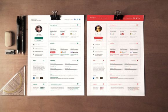 Awesome UI Concept Resume Resume Design Pinterest Simple - simple resume design