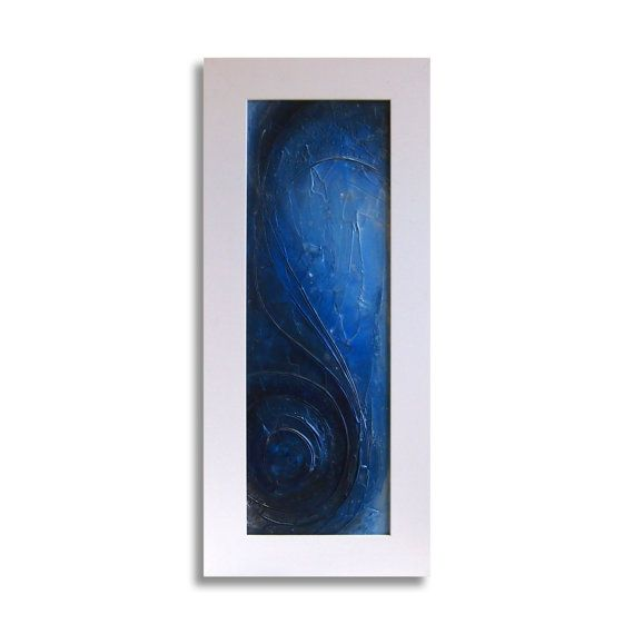 Mysterious  Long Acrylic Original Texture Painting on by ChingTeoh, $300.00