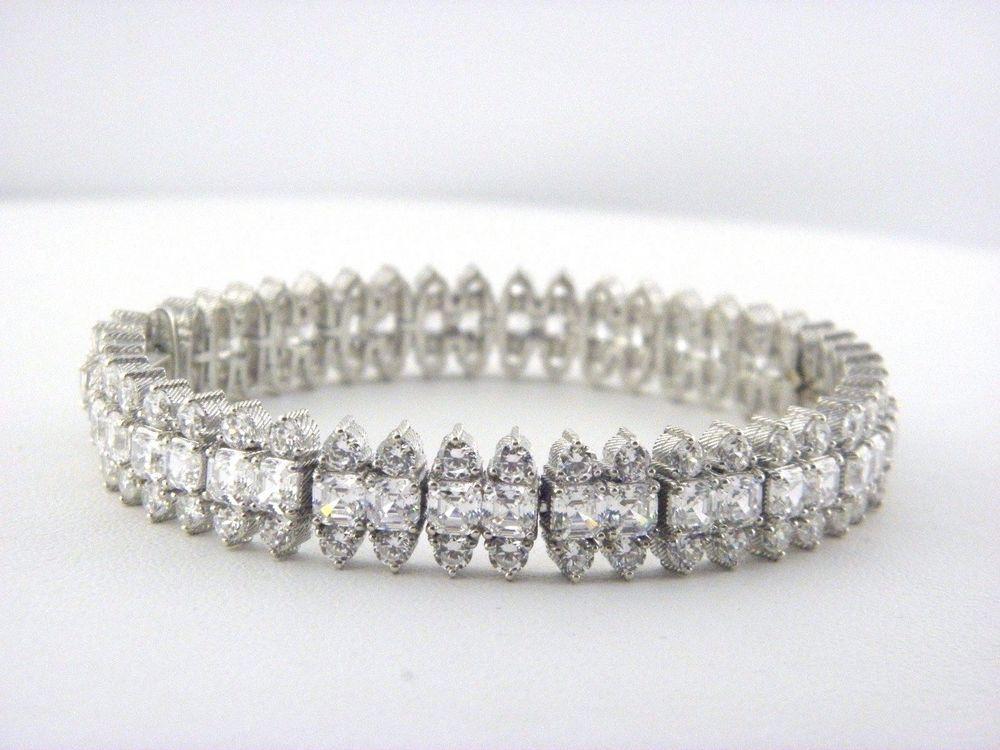 Pin By Sapphire Partners Sons Sol On Judith Ripka Bracelets Tennis Bracelet Modern Jewelry