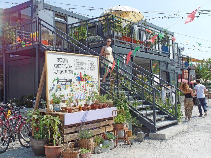 Container architecture in zurich urbane intervention - Container garten ...