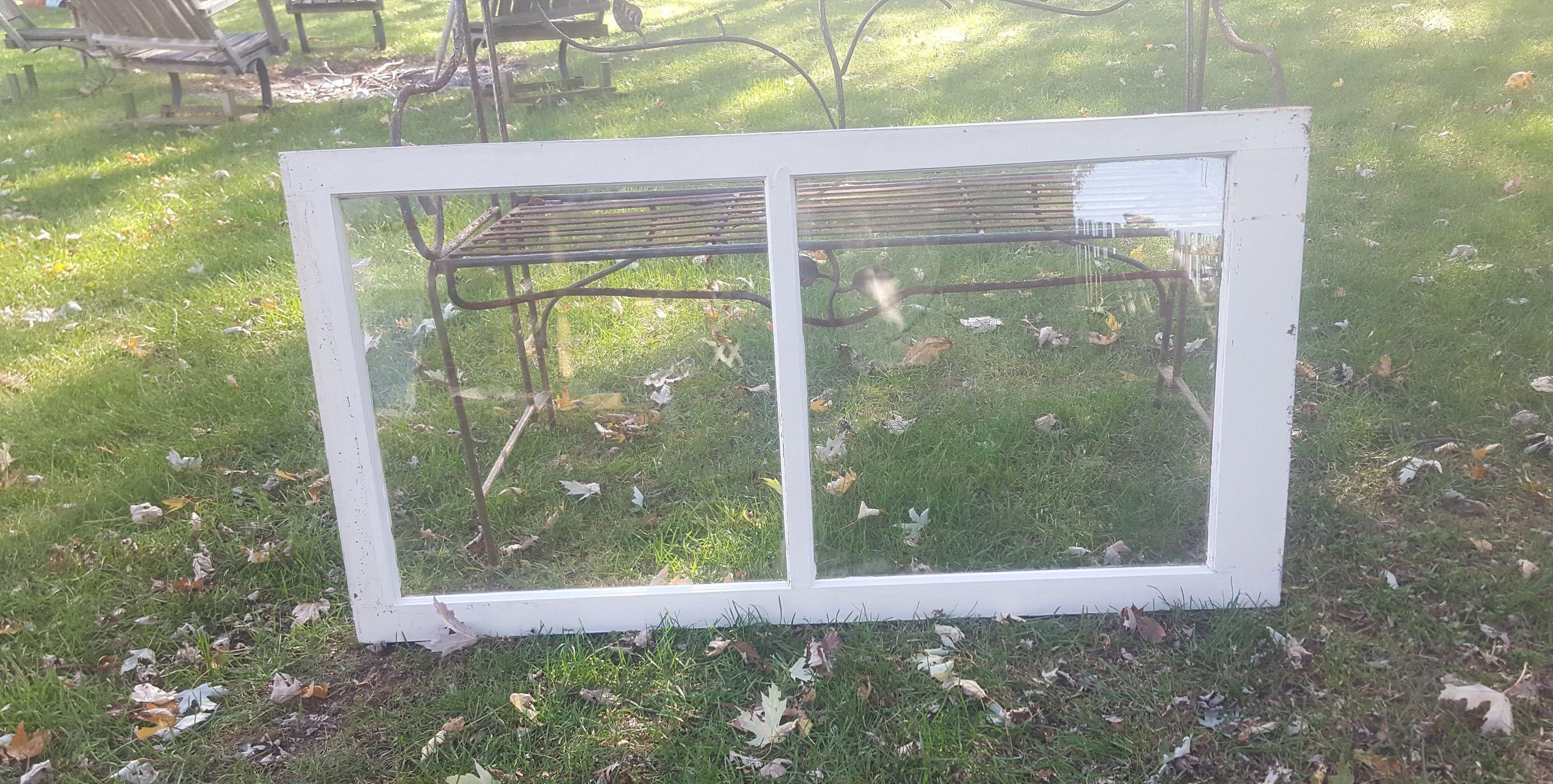 6 pane window ideas  vintage wood window frame two  pane sash french country modern