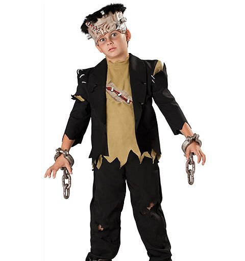 Deluxe Monster Boys Costume - Boys Clearance Halloween Costumes ...