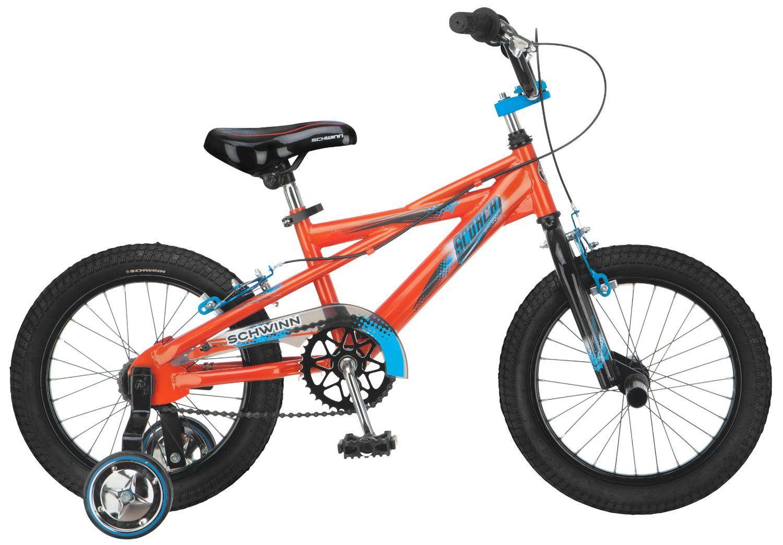 Amazon com: Schwinn Boy's Scorcher 16-Inch Bicycle, Orange: Sports