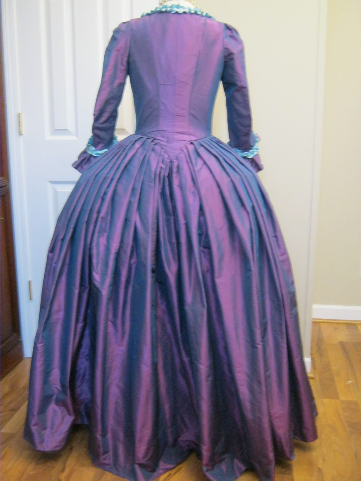 Colonial Gown | Reproduction Clothing by Verdanta on Etsy ...