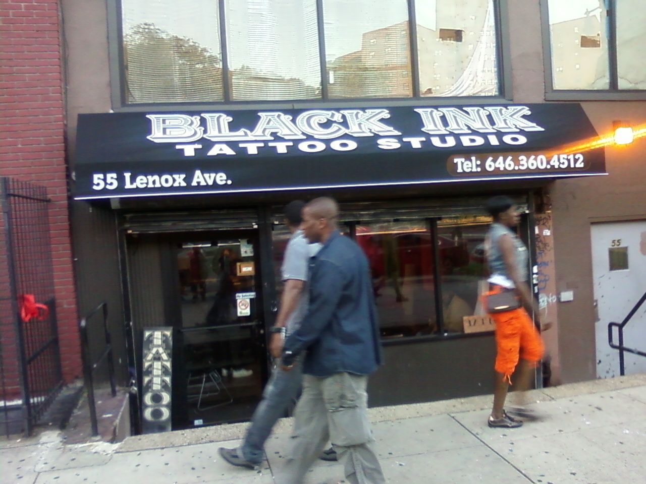 dbaa253bb NEW YORK: Trip to Harlem and peeped out the black Ink Tattoo Shop ...