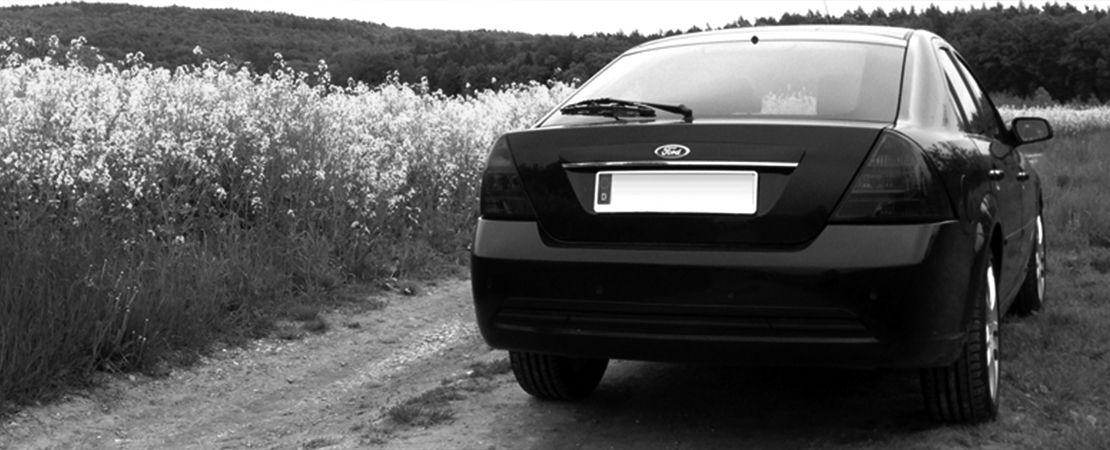 Ford Mondeo MK 3 V6 170 HP Named Projekt Blackpearl