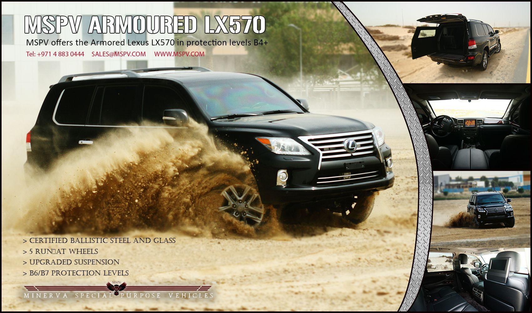 Armored Lexus LX570