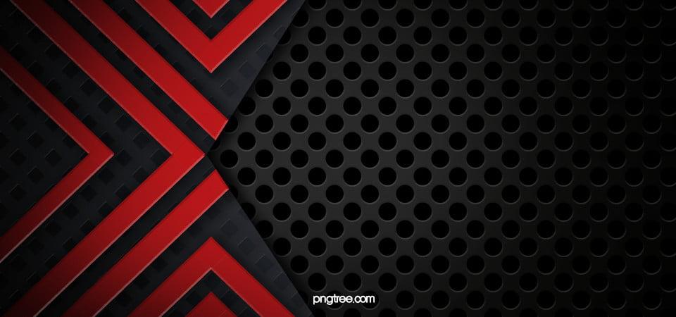 مخرمة حفرة مستديرة معدنية الملمس خلفية سوداء حمراء Red And Black Background Red Background Images Black Background Images