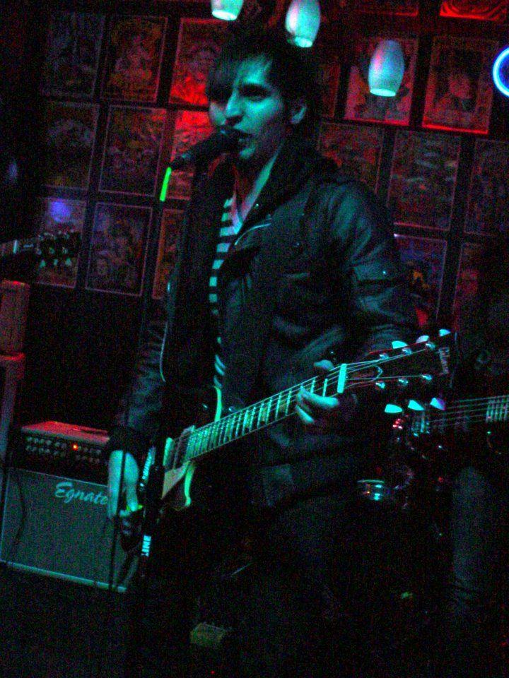 Daniel David in Tulsa, OK at Downtown Lounge 1-9-2012 - Spence