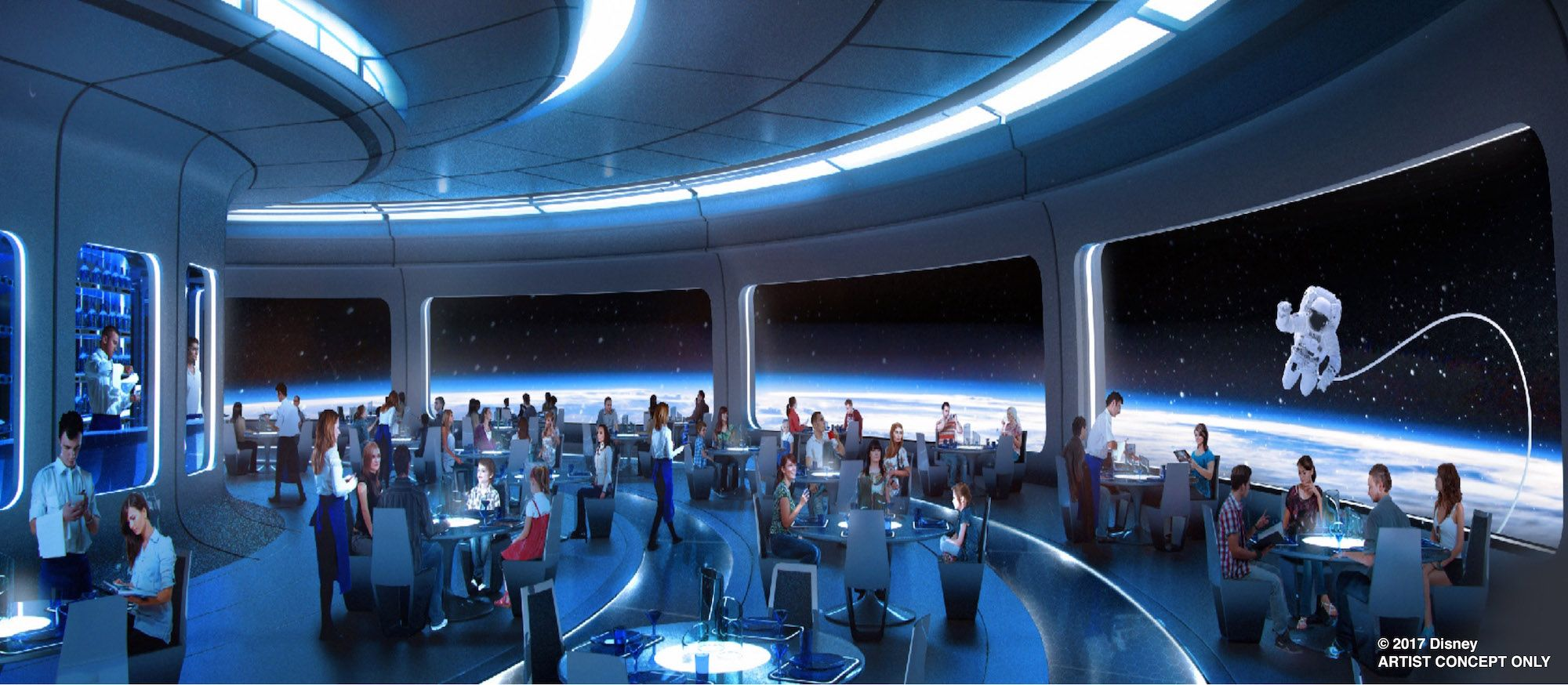 Space Restaurant at Epcot