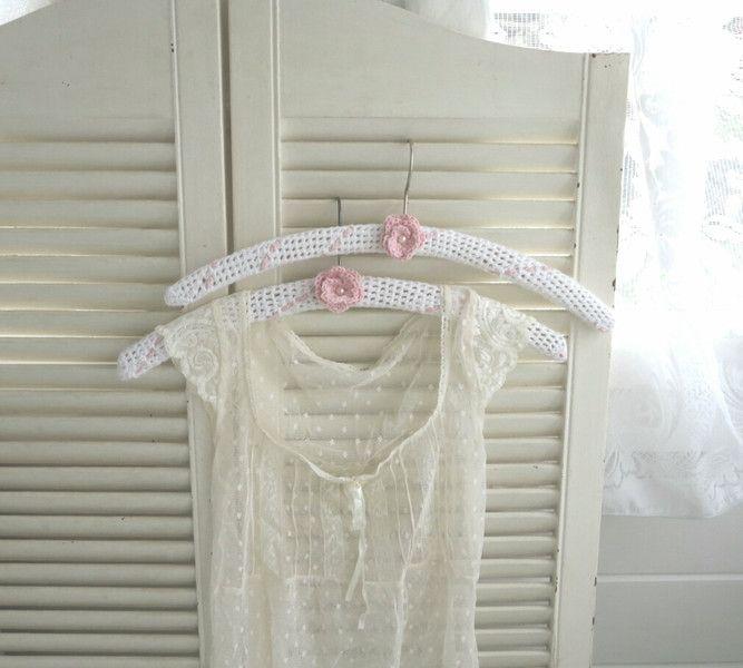 Kleiderbügel -  ~♡~ Wunderschönes Kleiderbügel-Set ~♡~ - ein Designerstück von kuki-kuki bei DaWanda