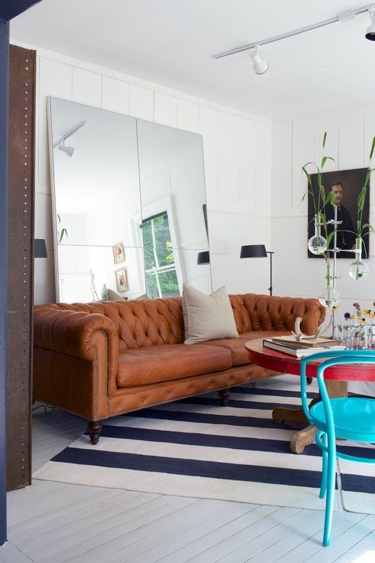 Red By The Fords Leanne Ford Interiors Brock Project Shot Alexandra Ribar Sofas From Weiss House Furniture