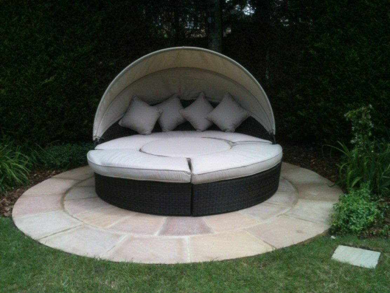 Cama de Jardín Bahía #Ambar #Muebles #Deco #Interiorismo #Jardin ...
