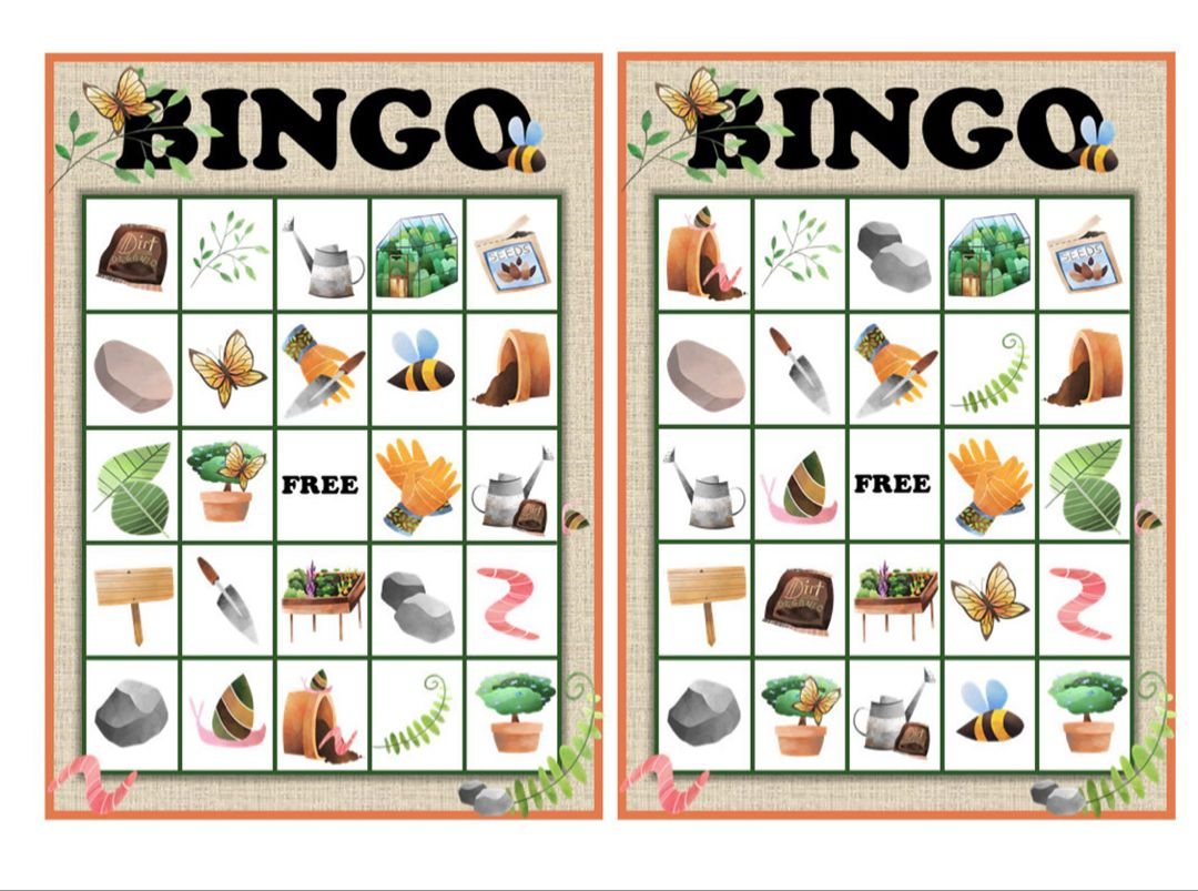 This Printables Bingo Is Perfect For Kids But Will Provide