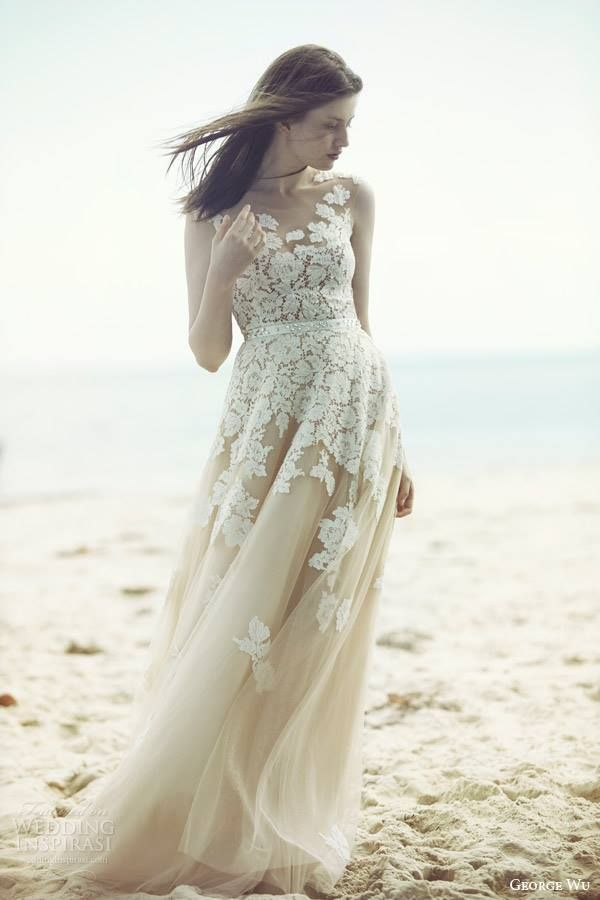 George Wu Wedding Dress 2015 Bridal Collection | the one | Pinterest ...