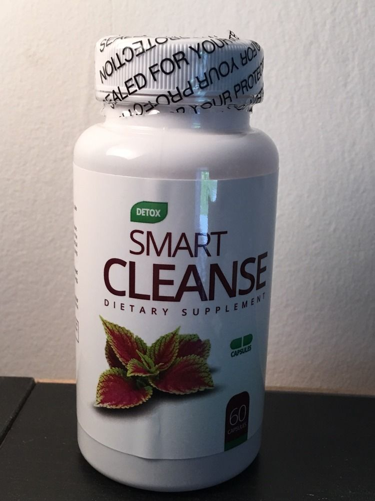 DETOX SMART CLEANSE DIETARY SUPPLEMENT 60 CAPSULES FREE