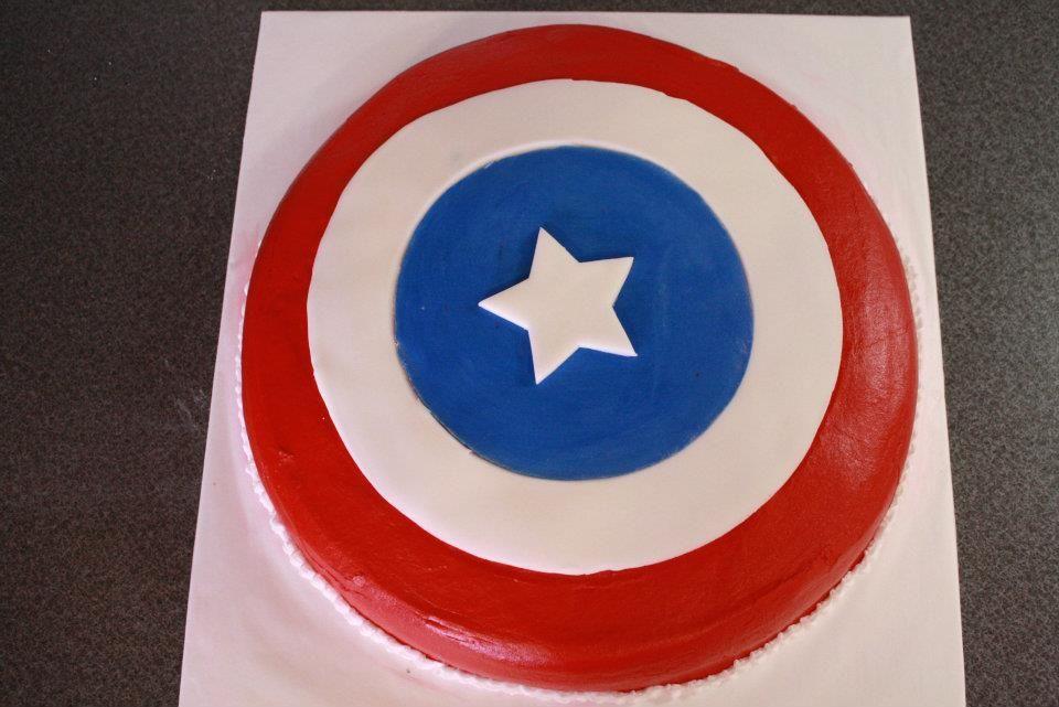 Capitan America Birthday