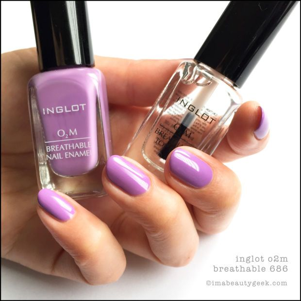 INGLOT O2M BREATHABLE NAIL ENAMEL SWATCHES & REVIEW | Pinterest ...