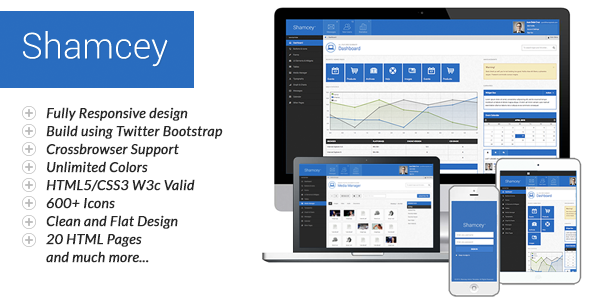 Shamcey Metro Style Admin Template Admin Templates Site