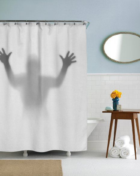 Sea Monster Shower Curtain Google Search Scary Shower Curtains