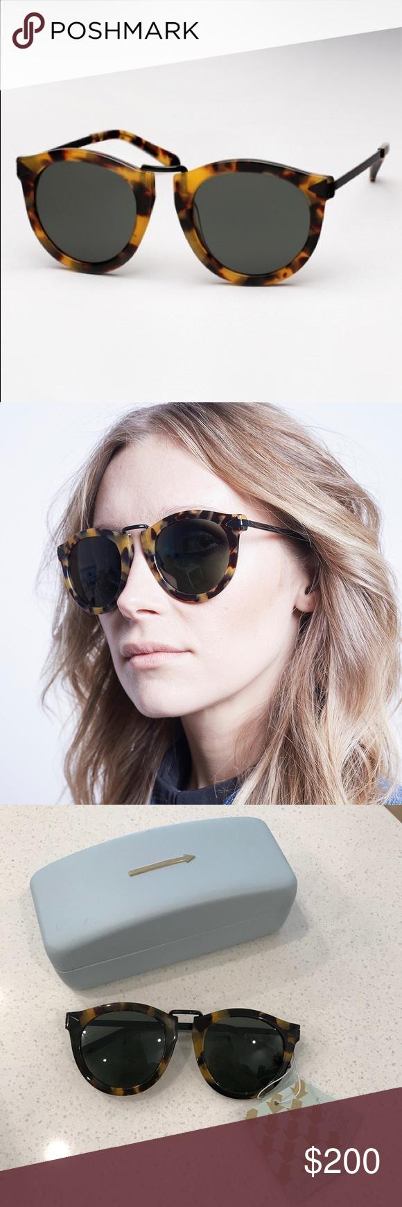 29b3b0b44607 Karen Walker Harvest Crazy Tort Sunglasses
