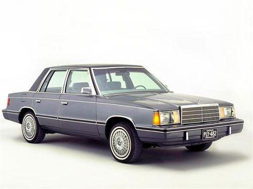 Chrysler K Car Ours Was Navy W Light Blue Landau Top First Car W