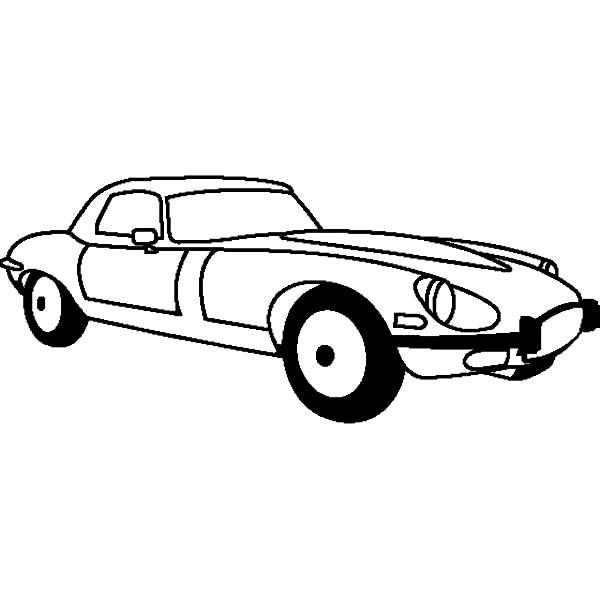 Jaguar E Type 1961 Cars Coloring Pages Bulk Color Jaguar E Type 1961 Cars Coloring Pages Jaguar E Type