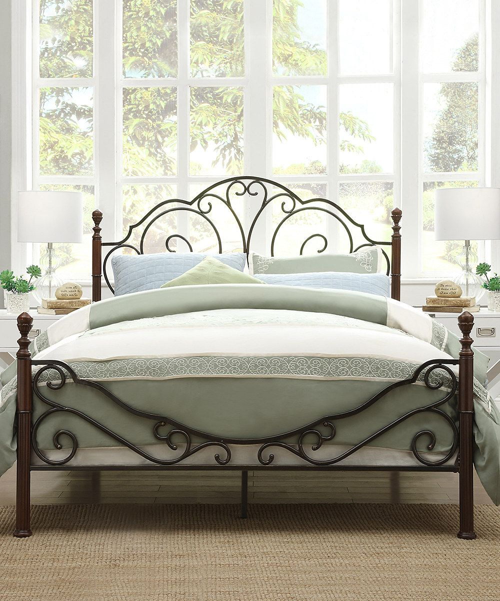 Metal Bett Look At This Cheri Bed Frame On Zulily Today Home Bed Frame