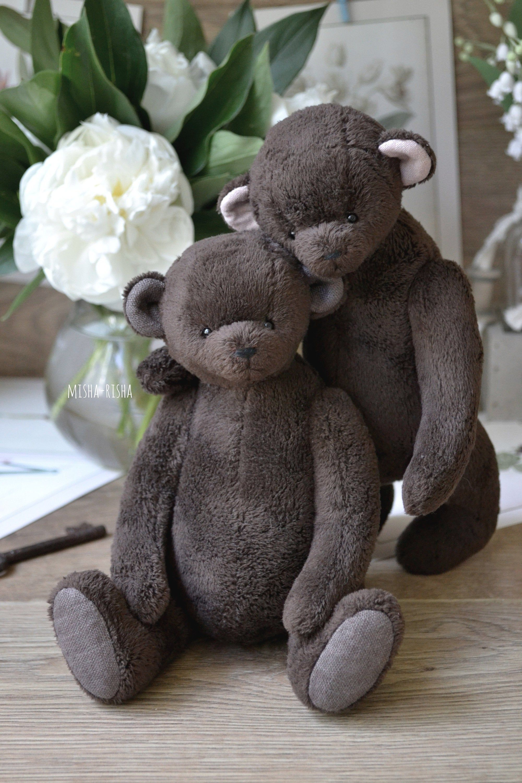 Twins Baby Gift Girls Set Of 2 Handmade Teddy Bears Set Etsy Twin Baby Gifts Handmade Teddy Bears Handmade Teddy [ 3000 x 2000 Pixel ]