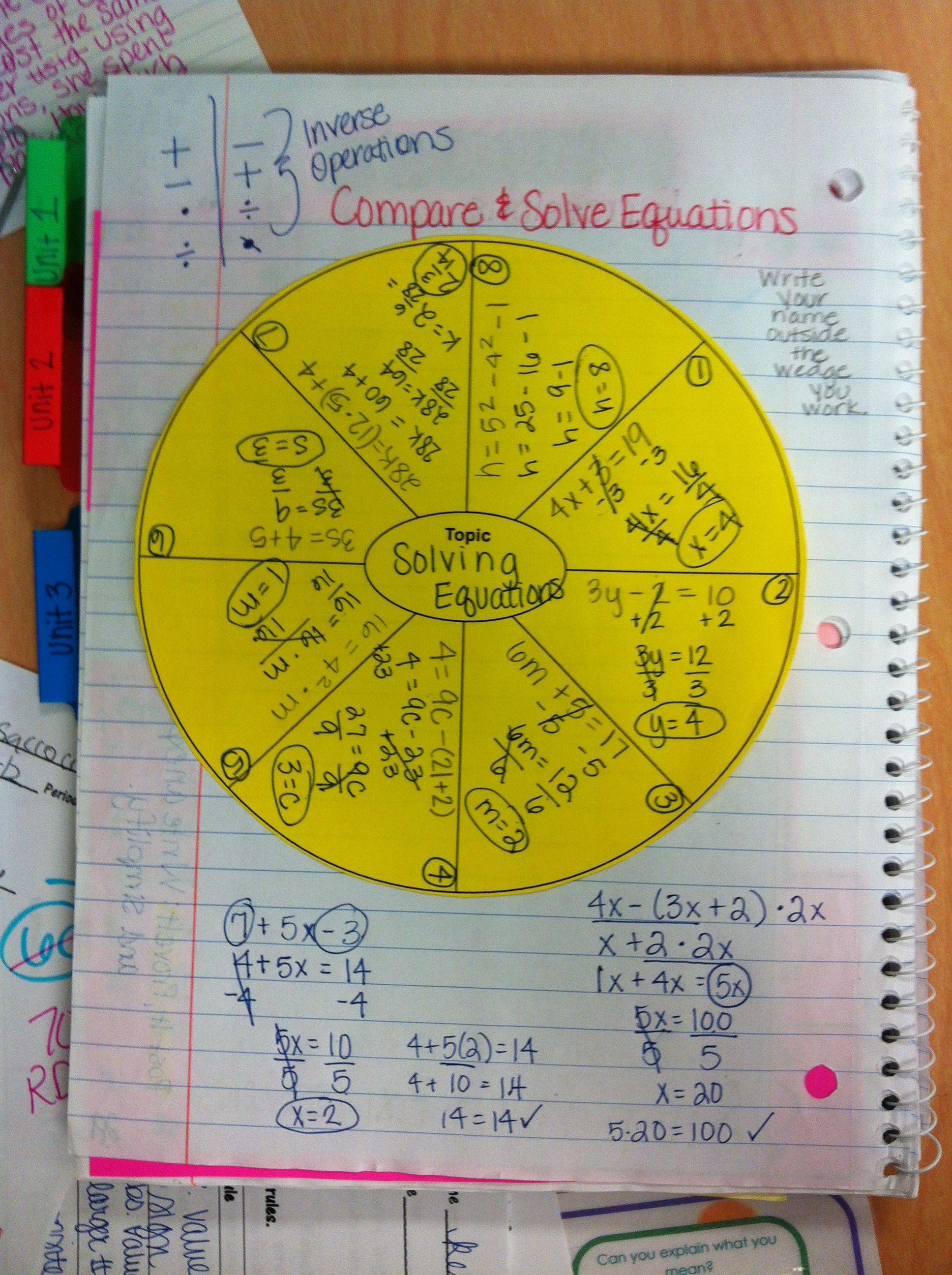 Multiplying And Dividing Fractions With Interactive Notebooks